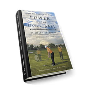 Click to Purchase Ollen's book How to Overcome the Power of the Golf Ball.